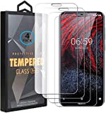 Ycloud 4 Pack Verre Trempé pour Nokia 6.1 Plus (2018), HD Transparent Screen Protector...