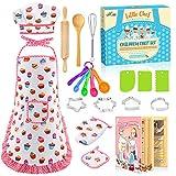 SAITCPRY Kinderküche Zubehör, Spielzeug für Jungen 3-8 Jahre 3-7 Jahre Mädchen Geschenk Kinderspiele ab 2 3 4 5 6 7 8 Jahren Jungen Geschenke 3-8 Jahre Junge Spielzeug Weiß