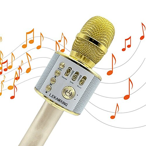 Micrófono Inalámbrico de Bluetooth Karaoke...