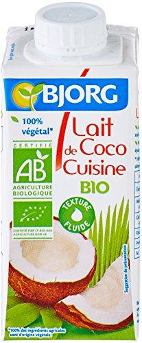 Bjorg Aide Culinaire Lait de Coco Cuisine Bio 20 cl