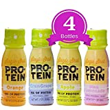 NutriWise - High Protein Diet Shots | Variety Pack | Low Calorie, Fat Free, Cholesterol Free, Sugar Free | 4 Pack / 2.5oz