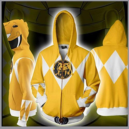 Hoodies Sweat à Capuche Rangers Zipper 3D Power Imprimé Manches Longues à Capuche Sweat à Capuche Veste Respirante G-M