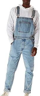 Salopette di Jeans Vintage Moda Uomo Salopette Salopette Salopette di Jeans Classici