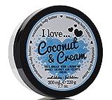 I Love... Coconut & Cream Nourishing Body Butter 200ml by I Love Cosmetics