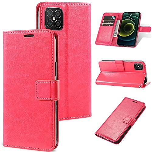 Ttianfa Funda para Huawei P9 Lite Flip Case Cover Carcasa,3 Ranura para Tarjetas.【2X】 Protector de Pantalla Soporte PlegableCierre Magnético 360° Protección Completa Ultra Delgado Funda,Black