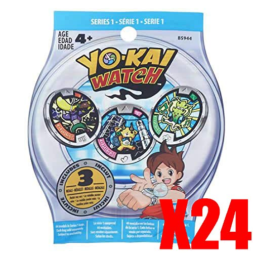 Yokai - Yo-Kai Watch PA3. Pack de 24 Sobres S1.