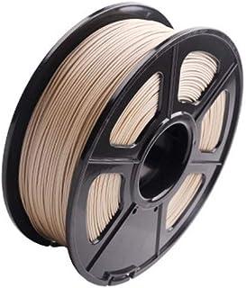 H.Y.FFYH Accesorios para impresoras 3D Warhorse Real Wood PLA Impresora 3D Filamento Filamento de Madera 1.75 Mm, 1KG (2.2LBS) Filamento de Madera de precisión Dimensional del Carrete