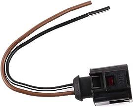 UPSM Horn Connector Plug Pigtail 2-Pin 4D0971992 Fit for VW Passat Golf Audi R8 A3 A4 A6