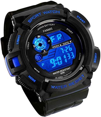Fanmis  Military  Digital  Watch