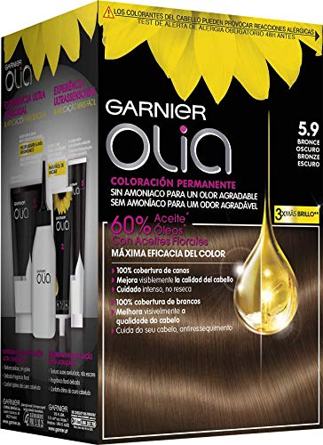 Garnier Olia Coloración Permanente sin Amoniaco, Agradable