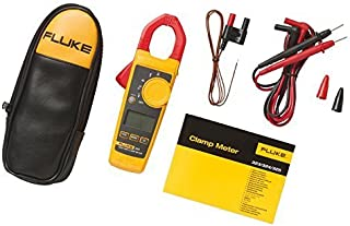 Fluke 324 600V AC/DC True-RMS Clamp Meter with Temperature, Capacitance Measurements with a NIST-Traceable Calibration Certificate with Data