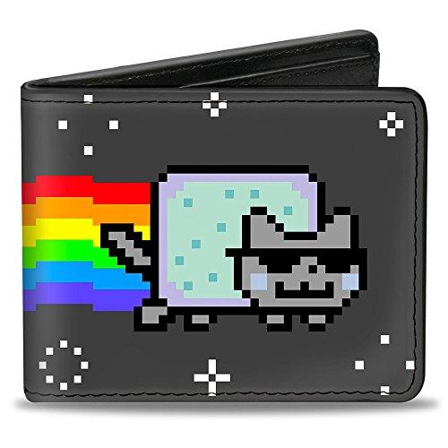 Buckle-Down Bifold Wallet Nyan Cat
