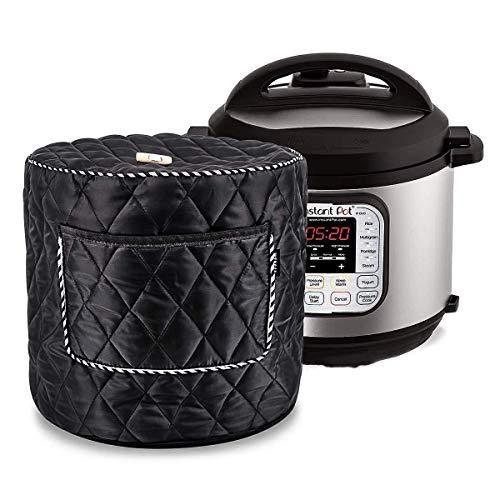 Cubierta de olla instantánea de 6 qt para olla de presión eléctrica, accesorios de cocina, color negro 6Q7
