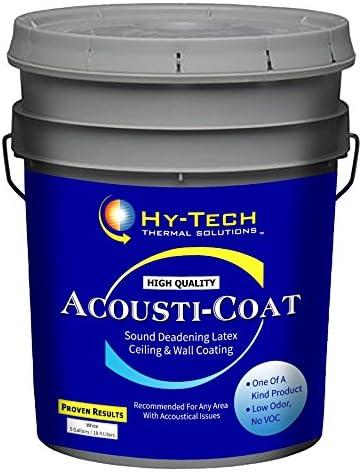Acousti Coat - Sound Deadening Paint - 1 Gallon