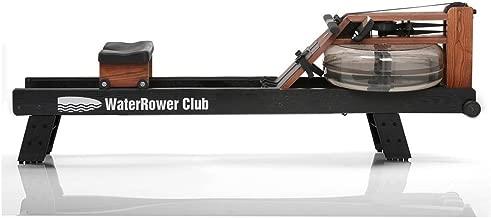 WaterRower Club Rowing Machine w/ S4 Monitor & Hi Rise Attachment