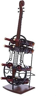 BNMKL Casier à vin Debout Plancher Grand Support de Bouteille de vin Support d'affichage de Stockage pour la Cave à la Mai...