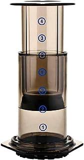モカコーヒーポットフィルターガラスコーヒーメーカーポータブルカフェフレンチプレスカフェエアロプレス機のコーヒーポット