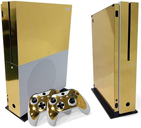 SKINOWN Xbox 360 Console Skin Sticker Vinyl Decal Cover for Xbox 360 Slim Console and Remote Controllers