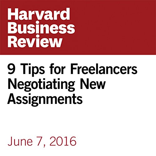 9 Tips for Freelancers Negotiating New Assignments copertina