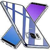 Wlife Crystal Clear Kompatibel mit Samsung Galaxy S8