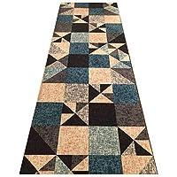 MDCG 高密度玄関マットカスタマイズ回廊カーペットエントランスパッドエリア敷物ランナーストリップフロアマット (Color : A, Size : 60x550cm)