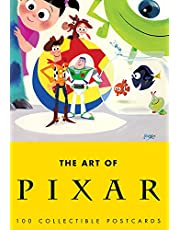 Art of Pixar: 100 Collectible Postcards (Book of Postcards, Disney Postcards, Animated Gift Card): 100 Collectible Postcards (Pixar Postcards, Cute Postcards for Kids, Cars Postcards)