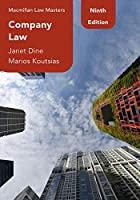 Company Law (Macmillan Law Masters)