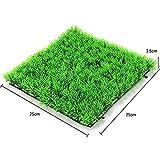 UEETEK Aquarium Künstliche Gras Rasen Grasmatte für Aquarium Dekoration