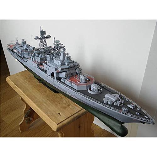 ELVVT 1: 200 antisubmarina de la nave rusa Harin Sin Miedo misil destructor del buque de guerra del modelo del papel hecho a mano de alta dificultad Creative Assembly DIY rompecabezas modelo de juguet