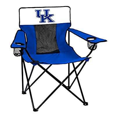 Logo Brands NCAA Collegiate Kentucky Wildcats Unisex Adult Elite Chair with Two Cups Holder, One Size, Multicolor