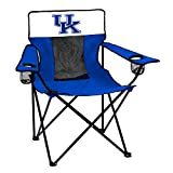 Logo Brands Officially Licensed NCAA Unisex Elite Chair, One Size,Kentucky Wildcats , Blue