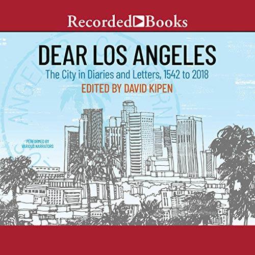 Dear Los Angeles audiobook cover art