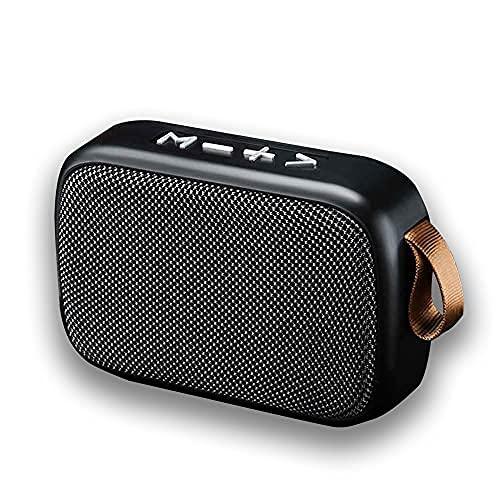 -Tek Styz Speaker Works for Sonim XP3405 Shield Fabric Design 3W Playtime 6H Indoor, Outdoor Travel (Gray)