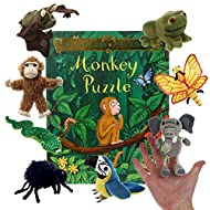 Monkey Puzzle - Book and Finger Puppets