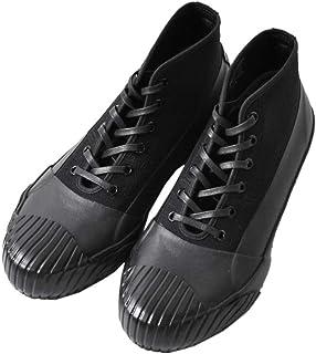 [ムーンスター] オールウェザーラバーレインシューズ 24.0cm ブラック alweather-24-black