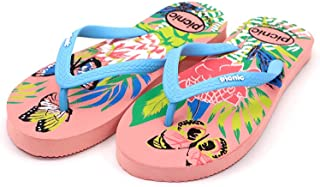 PICNIC Pink/Blue Stunning Thong Design Slippers for Women