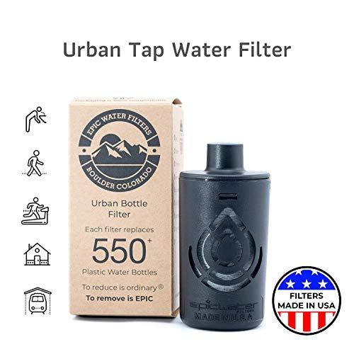 Epic Wasserfilter Everyday Ersatzfilter für Edelstahlflasche, Eco-Tritan-Flasche und die Antwort.