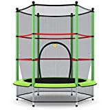 "Giantex 55"" Round Kids Mini Jumping Trampoline W/Safety Pad..."
