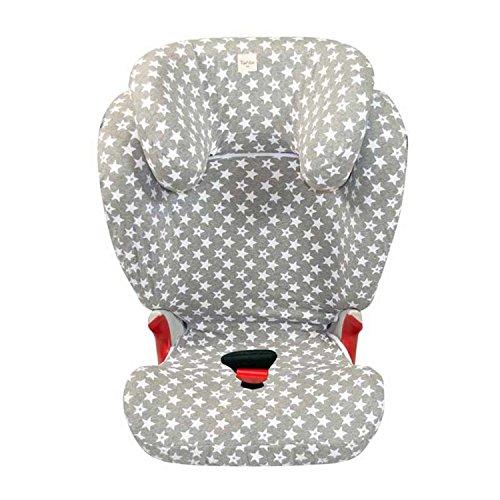 Fundas BCN® - F98 - Sitzbezüg für Kinder-Autositz Römer ® Kidfix II XP Sict ® - Fun Vintage Star