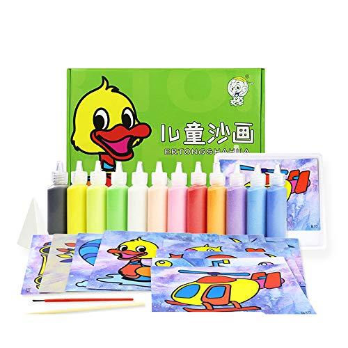 Berry President 12 paquetes de tarjetas de pintura de arena