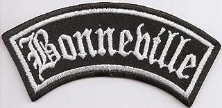 Bonneville Biker Rocker Motorrad Heavy Metal Aufnäher Patch Abzeichen