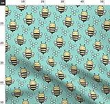 Biene, Bienen, Hummel, Frühling, Insekt, Wabe, Wabenmuster