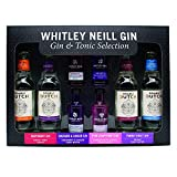 Whitley Neill Mixologist Gin & Tonic Selection Gift Pack, 4 x