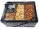 The Ludlow Nut Company Whole Nut Selection Luxury Gift Tin - Assorted Nut Gift Set - 550 Gram