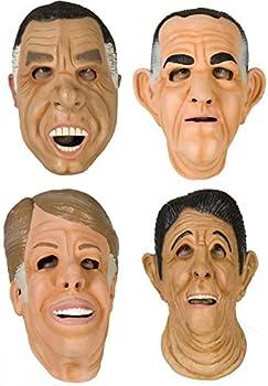 80sTees Point Break Mask Complete Set Tan