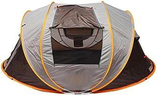 5-8 helautomatiskt campingtält vindtätt vattentätt automatisk pop-up tält familj utomhus omedelbar installation tält 4 säs...