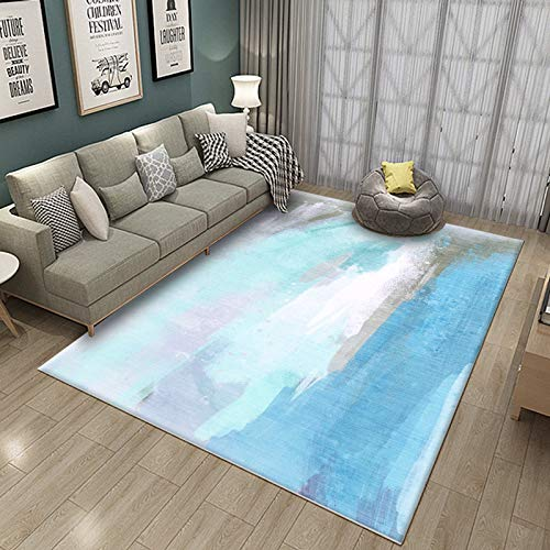 ERTYR Thick Rug Living Room Rug Plush Anti-Slip Shaggy Long Pile Rugs For Living Room, Dining Room In Various Sizes 80X160CM