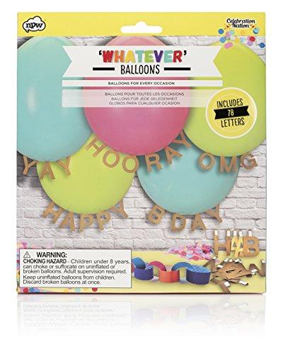 NPW Gepersonaliseerde Partij Ballon Decoraties - Ongeacht Boodschap Ballonnen Viering Natie