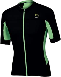 Karpos Pralongia SS Jersey Uomo verde fluo/nero 2020 Bike Jersey manica corta