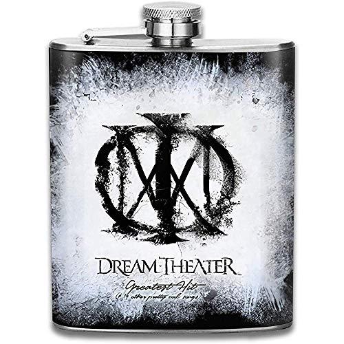 Dream Theater Outdoor Draagbare RVS Vlagon Liquor Hip Flask Set